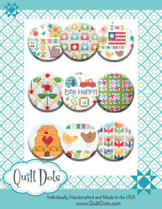 Sweet Summertime Quilt Dots by Lori Holt