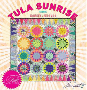 Tula Sunrise Quilt Compete Paper Pieces and Pattern Set