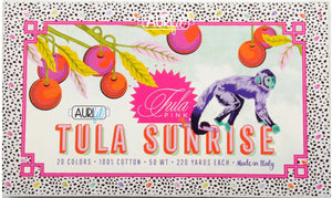 PRE-ORDER Tula Sunrise Thread Collection Monkey Wrench