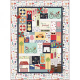 PRE-ORDER Vintage Boardwalk Quilt Kit - EMBROIDERY