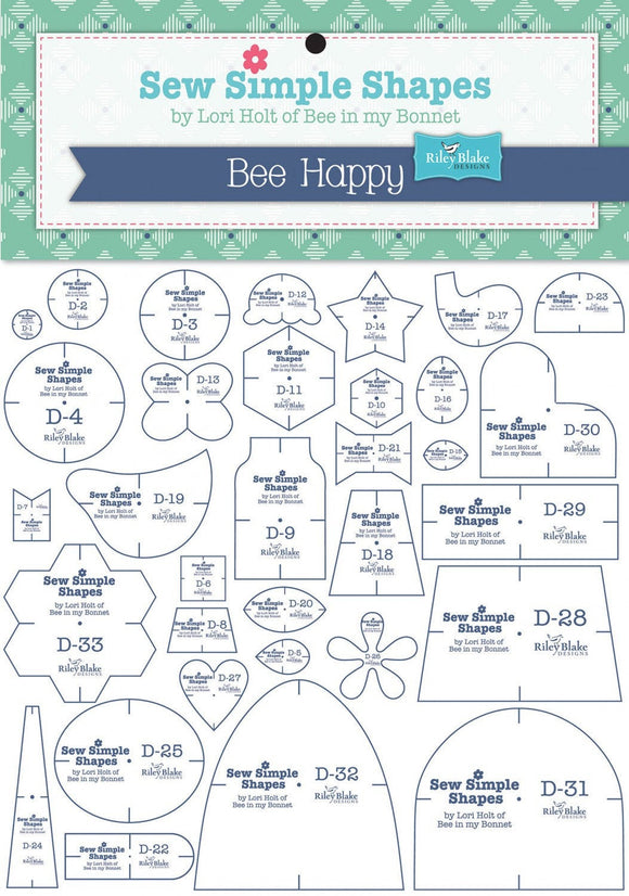 Bee Happy Sew Simple Shapes by Lori Holt