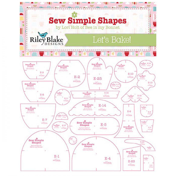 Let's Bake Sew Simple Shapes by Lori Holt