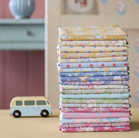 PRE-ORDER Happy Camper Half Yard Bundle by Tilda