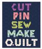 PRE-ORDER Cut Pin Sew Make Quilt Kit by Tula Pink