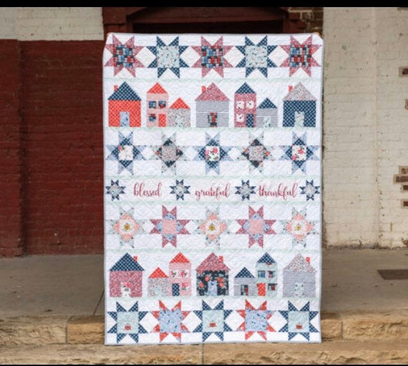 Lets Stay Home Quilt Kit by Melissa Mortenson
