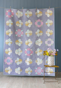 PRE-ORDER Flowers and Bees Quilt Kit featuring Happy Camper by Tilda