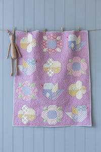 PRE-ORDER Adore You Lavender Pink Quilt Kit featuring Happy Camper by Tilda