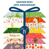 PRE-ORDER Heather Ross's 20th Anniversary FQ Bundle