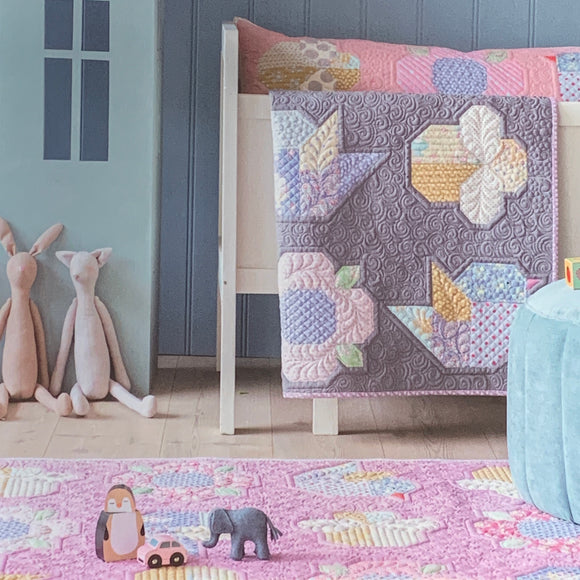 PRE-ORDER Adore You Grey Quilt Kit featuring Happy Camper by Tilda