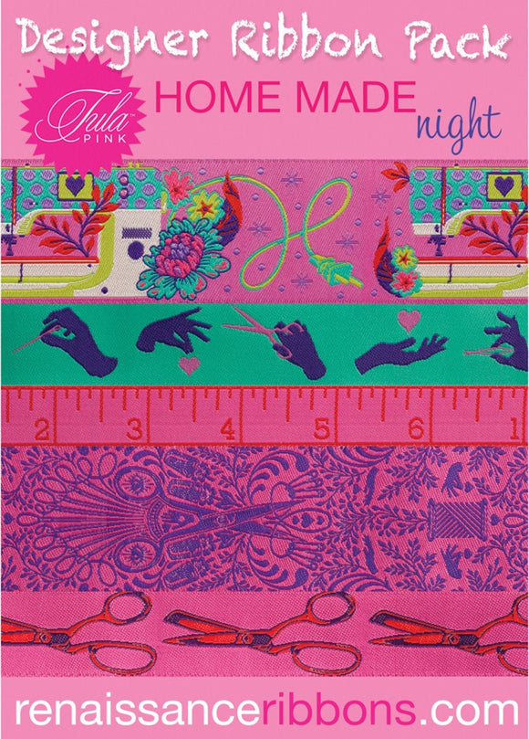 Tula Pink HomeMade Night Ribbon Pack
