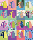 PRE-ORDER The Irony Quilt Kit featuring True Colors by Tula Pink