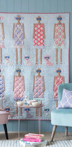 PRE-ORDER Me and My Dog Quilt Kit featuring Bon Voyage by Tilda