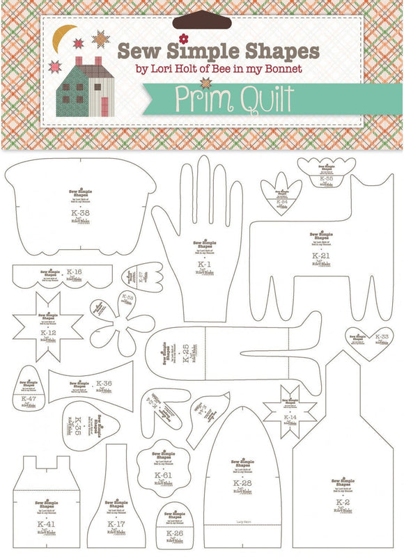 PRE-ORDER Prim Sew Simple Shapes by Lori Holt