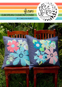 NEW Fleurs European Cushions Pattern Set