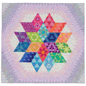PRE-ORDER Nebula Block of the Month featuring True Colors by Tula Pink