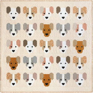 PRE-ORDER The Puppies Quilt Kit by Elizabeth Hartman