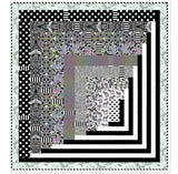 PRE-ORDER Tunnel Vision Quilt Kit featuring LineWork by Tula Pink