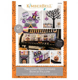 Twilight Boo-Levard Bench Pillow Machine Embroidery Pattern CD by KimberBell