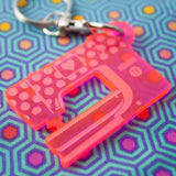 Sewing Machine Keychain by Tula Pink