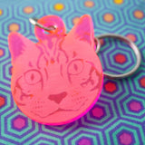 Cat Keychain by Tula Pink
