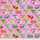 PRE-ORDER Mad Hatter Tea Party Quilt Kit featuring Curiouser & Curiouser by Tula Pink