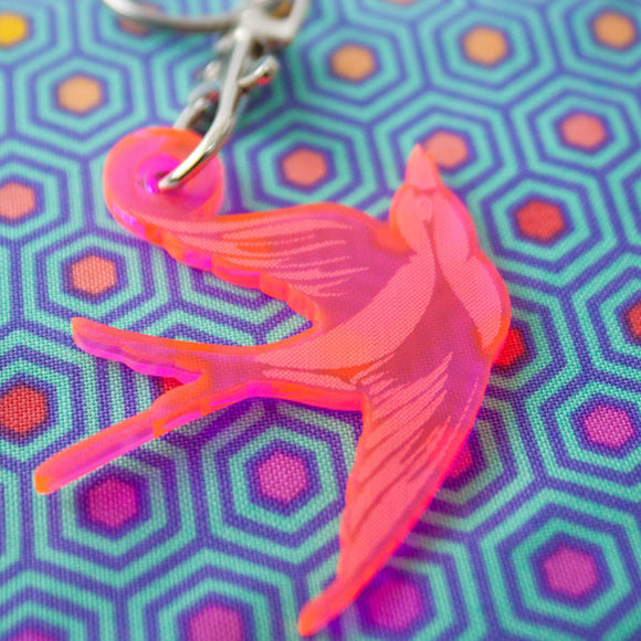 Bird Keychain by Tula Pink