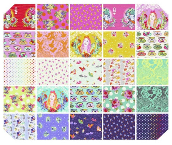 PRE-ORDER Curiouser & Curiouser FQ Bundle by Tula Pink