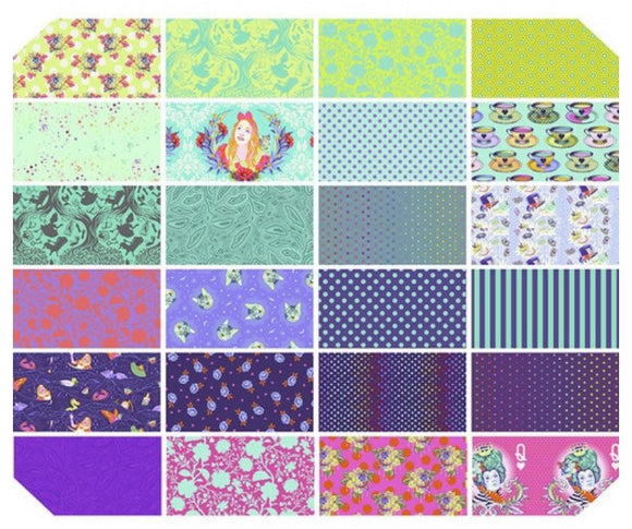 PRE-ORDER Curiouser & Curiouser Daydream Half Yard Bundle by Tula Pink