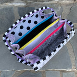 LineWork Zebra Sew Together Bag