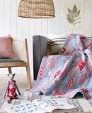 PRE-ORDER Foliage Red/Blue Quilt Kit