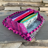 Peacocks Sew Together Bag