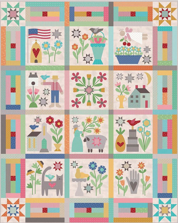 Prim Quilt Kit by Lori Holt