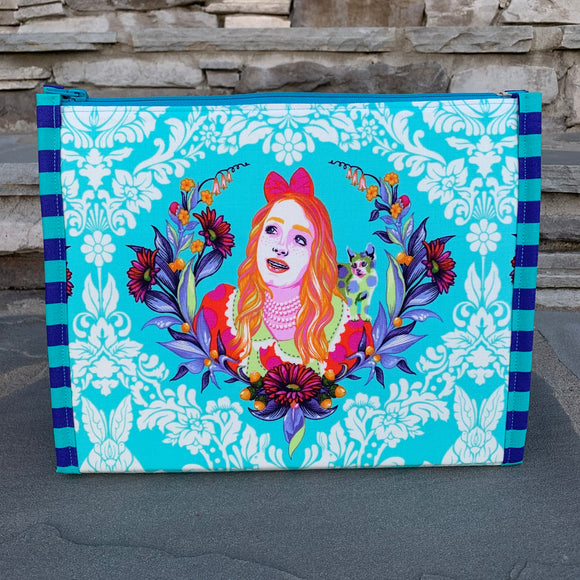 Pre-Order Custom for Bernie Curiouser Large Booklet Pouch