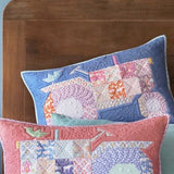 PRE-ORDER Patch Tractor Pillow Kit in Lupine featuring Maple Farm by Tilda