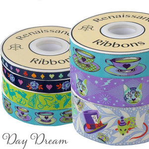PRE-ORDER Curiouser and Curiouser Day Dream Tula Pink Ribbon Pack