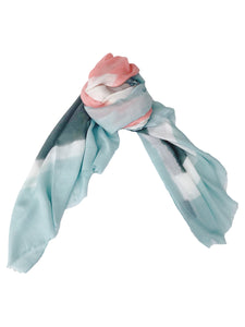 Block Scarf [Mint]