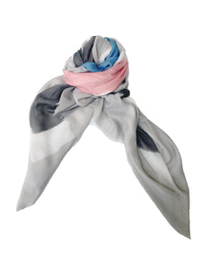 Block Scarf [Light Pink]