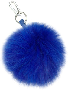 Fox Fur Key Chain