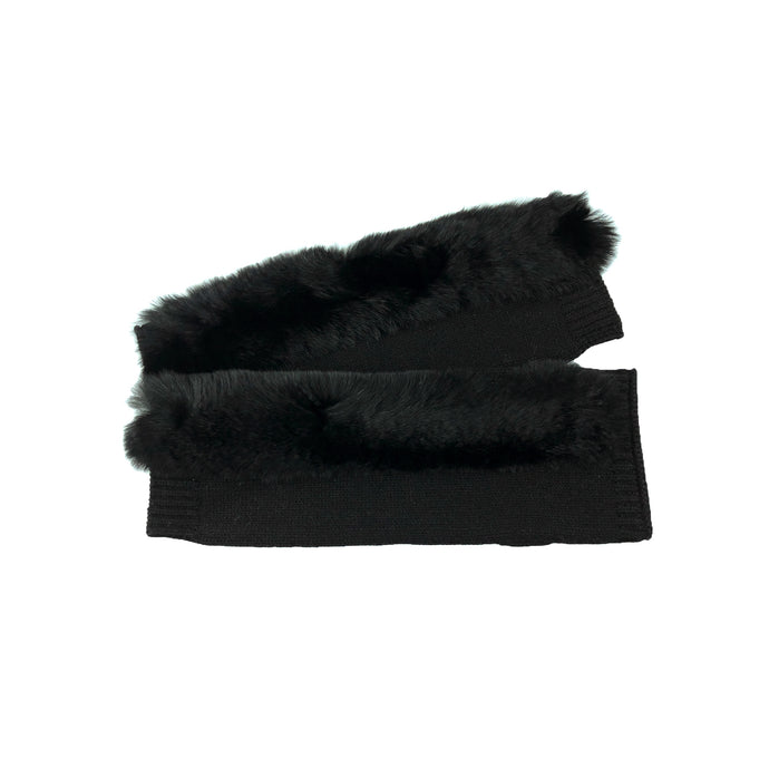 Broome Glove with Fur Trim