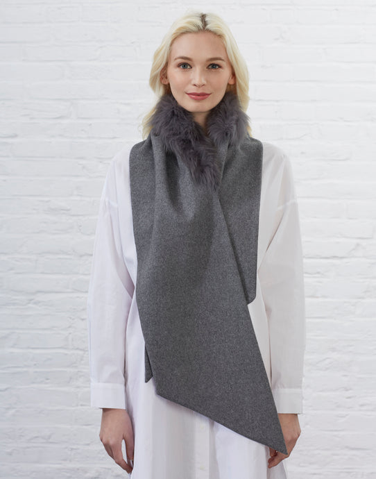 Gordon Scarf [Dark Grey]