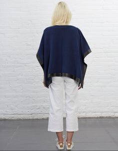 Mulberry Poncho [Cobalt]