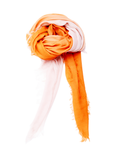 Hand Dyed Ombre Scarf [Persimmon]