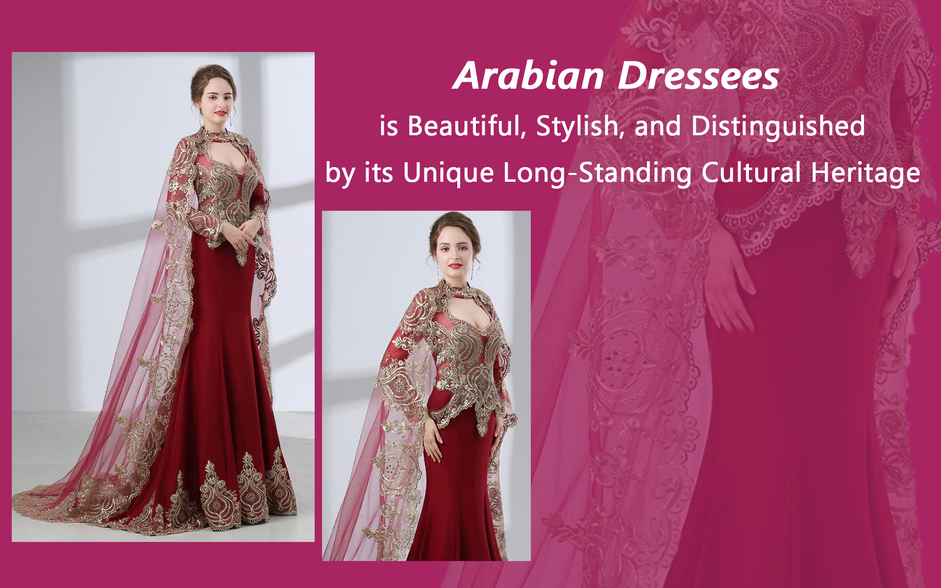 Different designs of Arabian dress for girls and boys in Pakistan