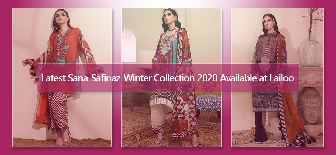 Buy Latest Sana Safinaz Winter Collection 2020 Available at Lailoo