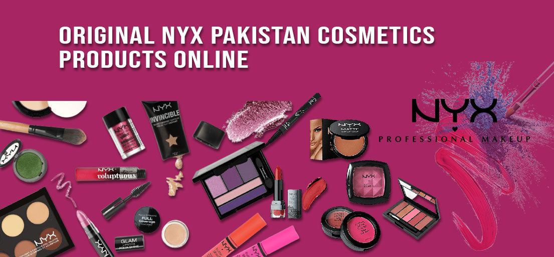 Buy Online NYX Pakistan | NYX Cosmetic Products in Pakistan