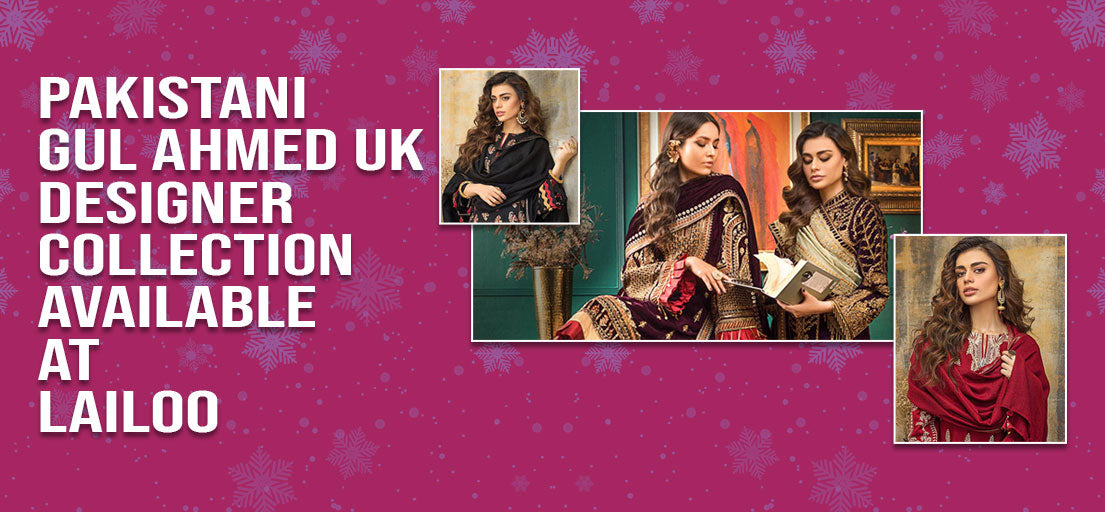 Gul Ahmed UK Winter Collection | Buy International Clothes