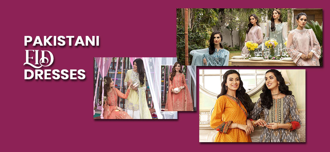Latest Pakistani Eid Dresses Collection |Buy Ladies dresses Online at Lailoo