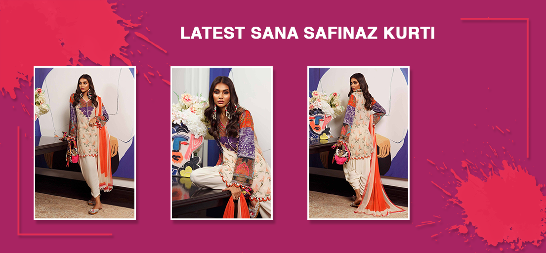Latest Sana Safinaz Kurti & Ready to Wear Collection |Designer Women Clothing