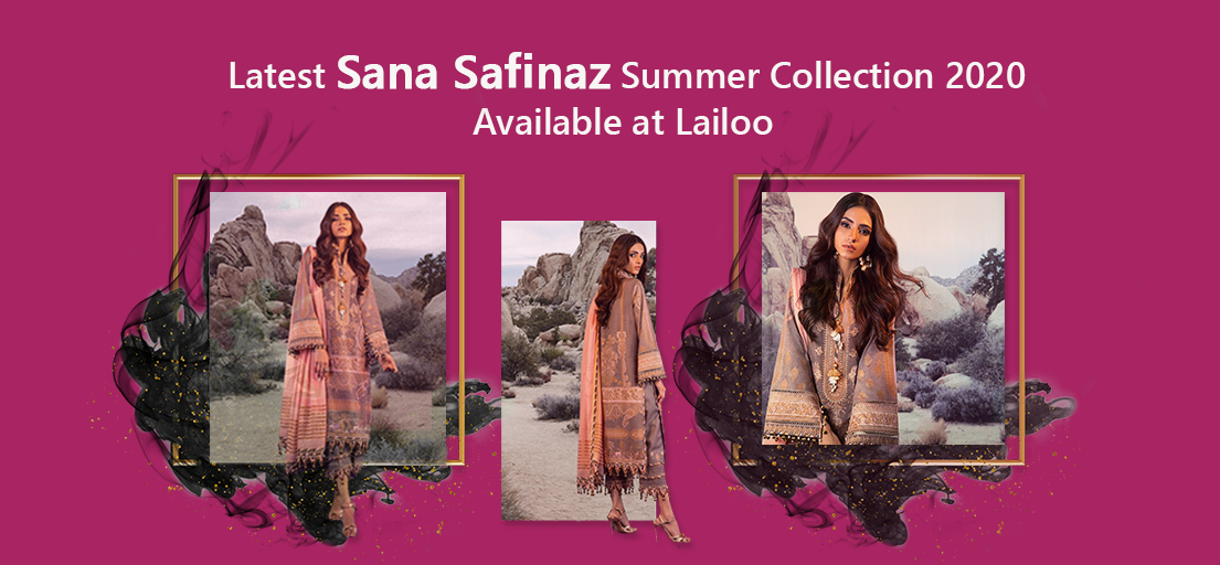 Latest Sana Safinaz Summer Collection 2020 Available at Lailoo