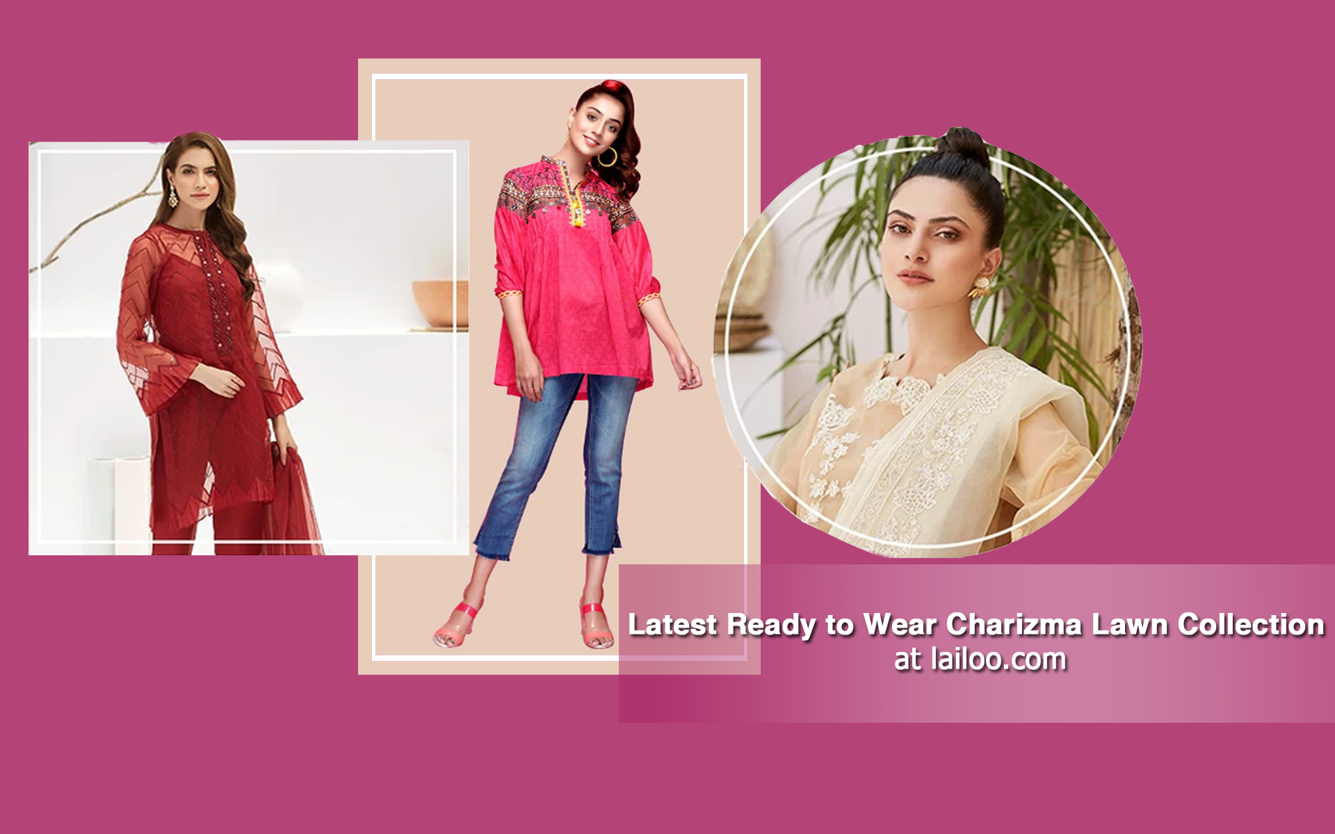 Latest ready to wear Charizma lawn collection